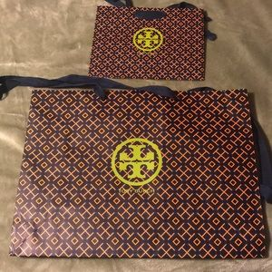 Tory Burch shopping bags